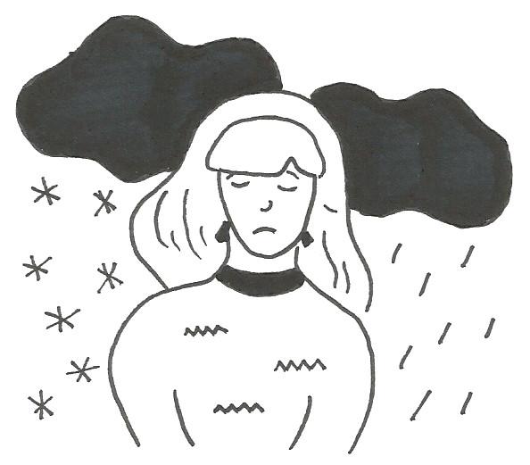 Noia trista