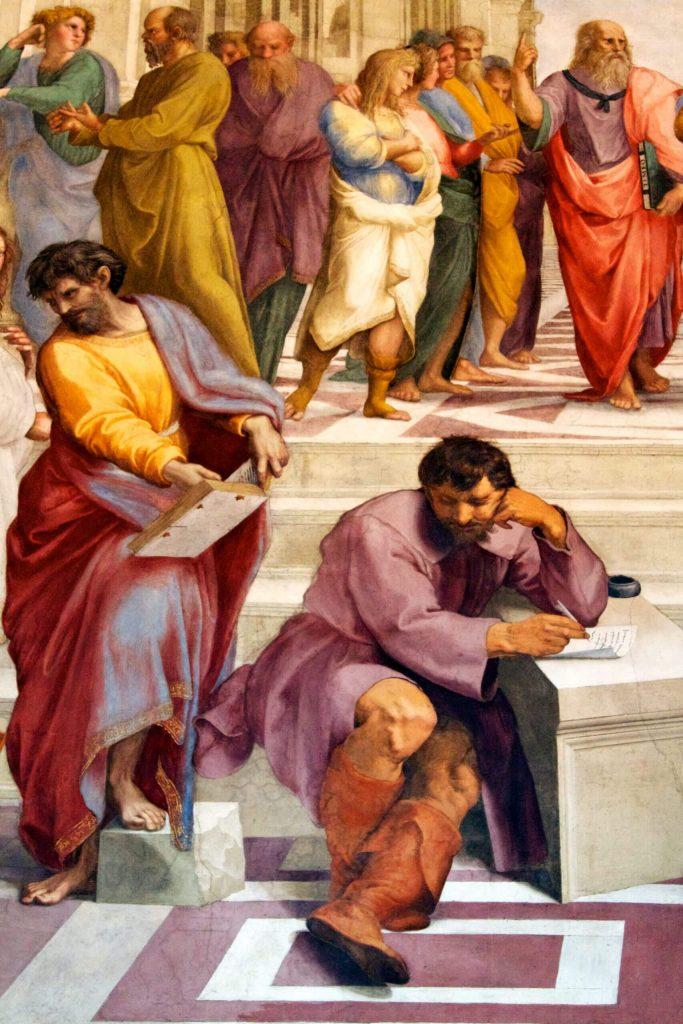 Heraclit i Parmenides
