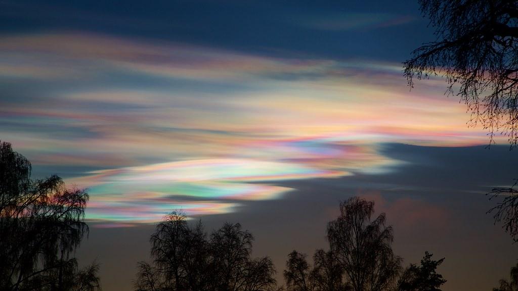 Núvol estratosfèric polar